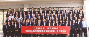 共青团成都西部物联集团有限公司第一次代表大会胜利召开